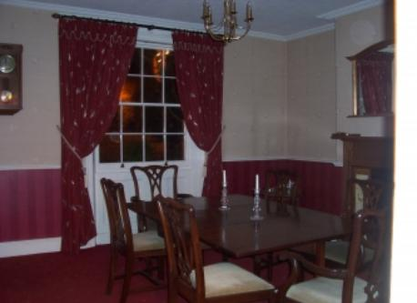 Dining room at Cherry Burton