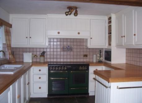kitchen at Cherry Burton