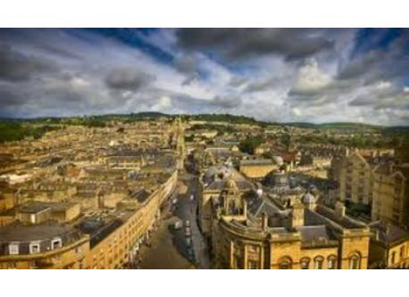 View across Bath