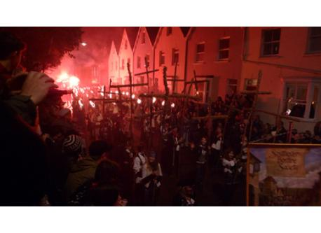 Lewes is rightly famous for its bonfire celebrations in November