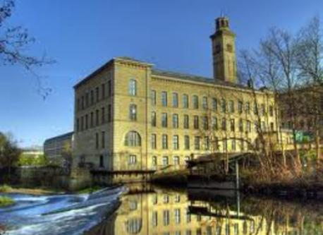 World Heritage village of Saltaire (8km)