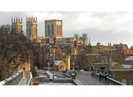 The historic city of York (50km)