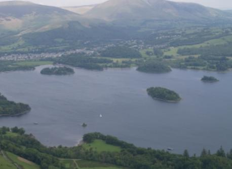 View from the Catbells near Keswick