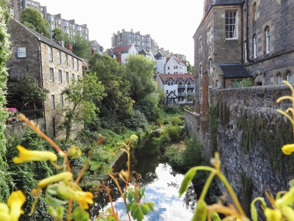 Dean village , New town Edinburgh