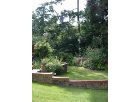 Left garden