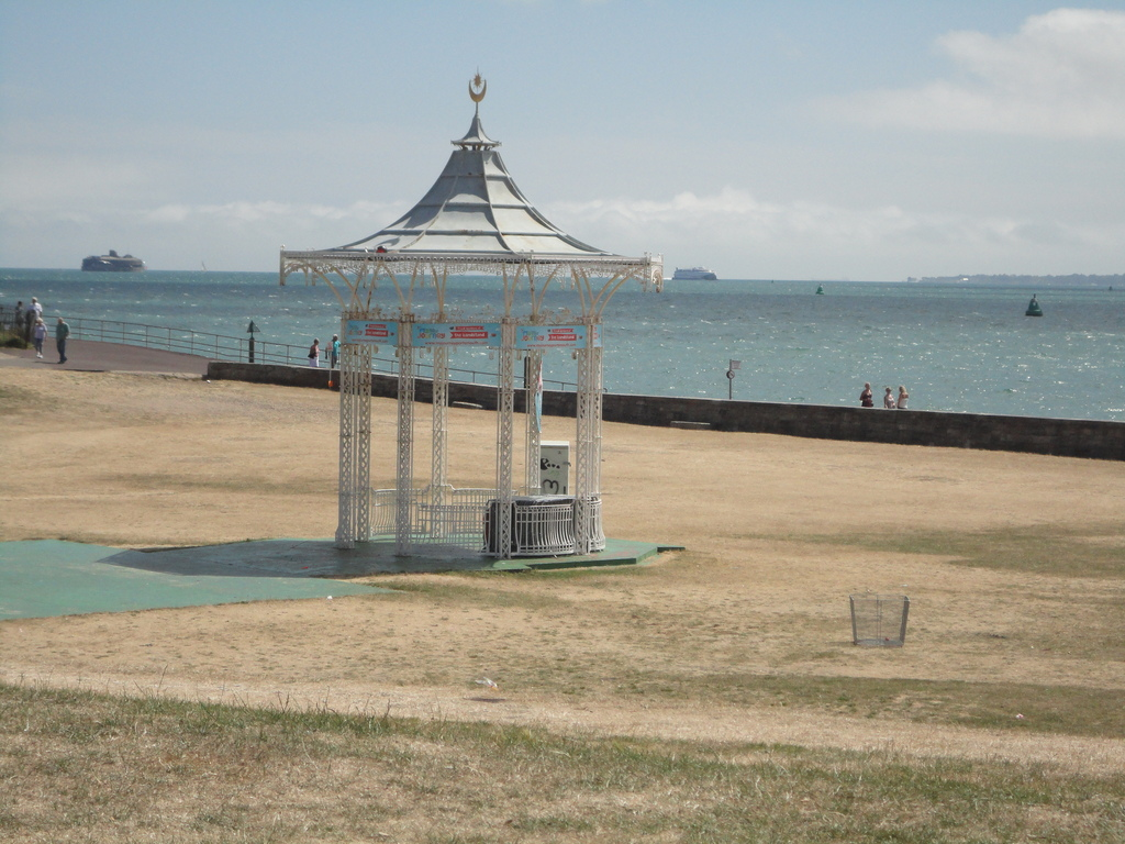 The Bandstand on the seafront