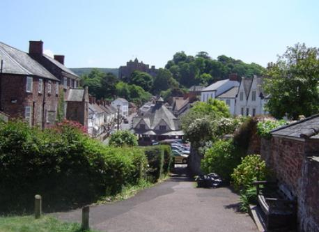 Dunster High Street....famous view!