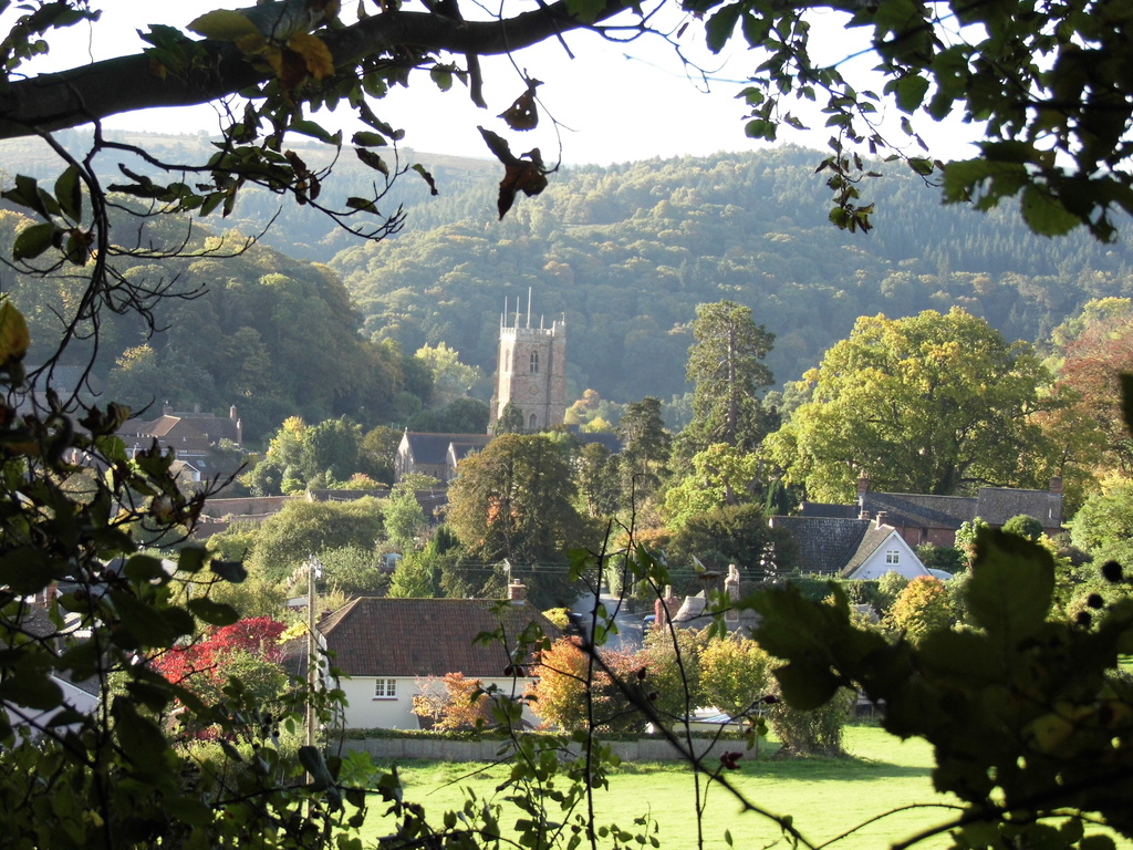 View of Dunster.