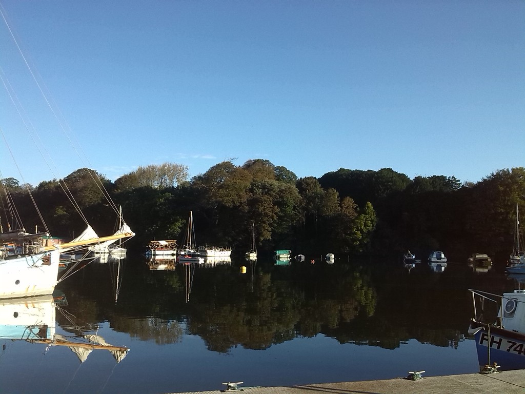 local Penryn creek harbour view