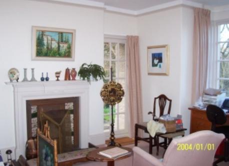 Study/piano room