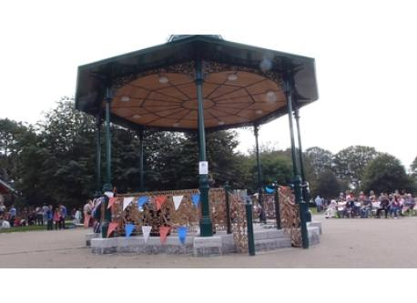 New bandstand in Devonport Park