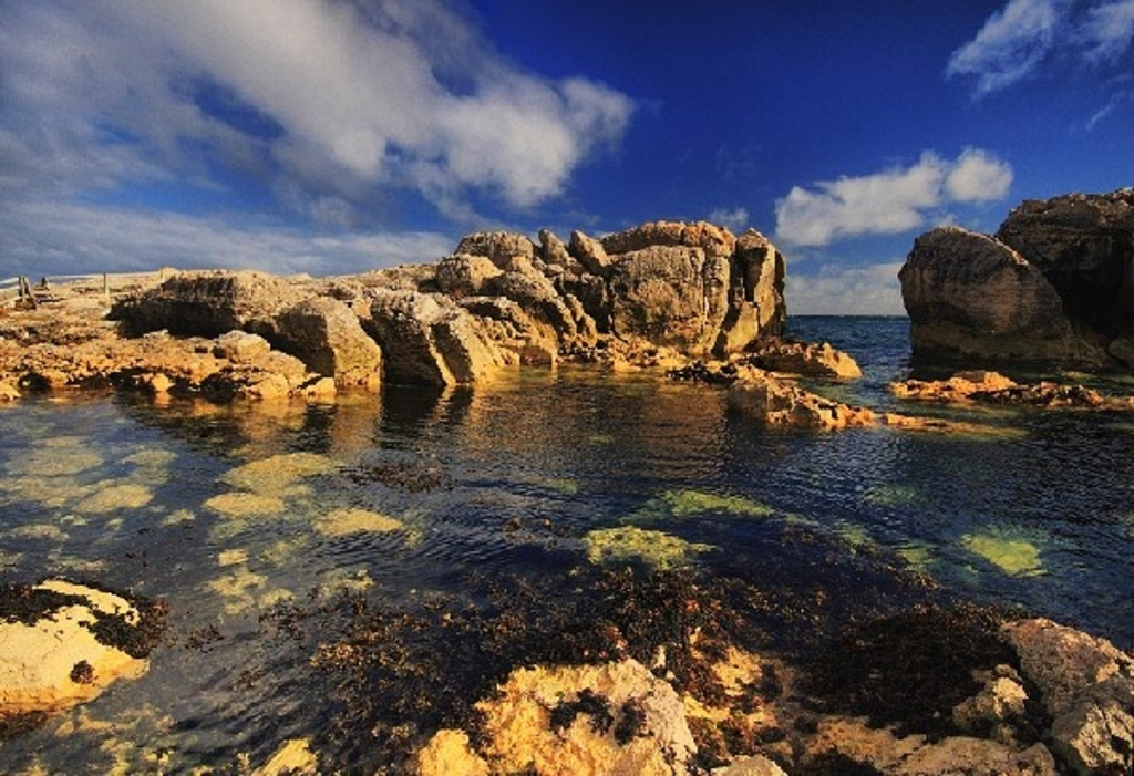 Garron Point coastline.