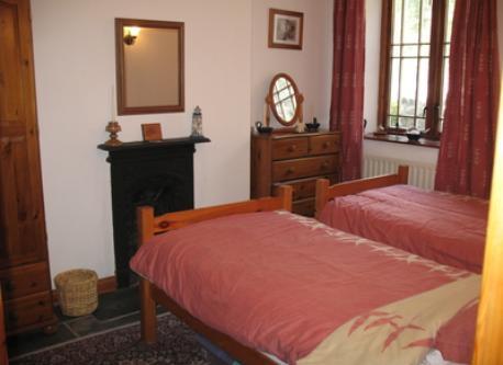 Ground floor bedroom.