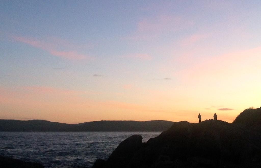 Sunset at Garron Point, Nov 22, 2015.