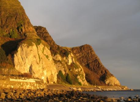 Garron Point at sunrise (100m).