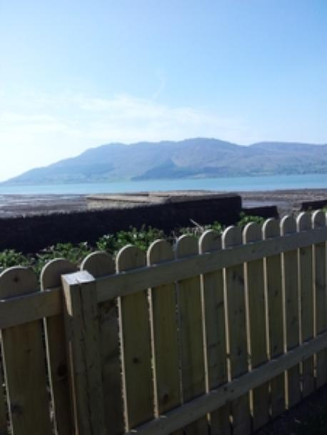 view from garden to Cooley Peninsula