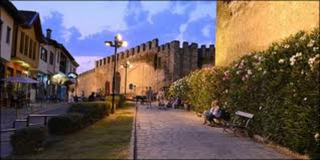 PART OF THESSALONIKI'S CASTLES
