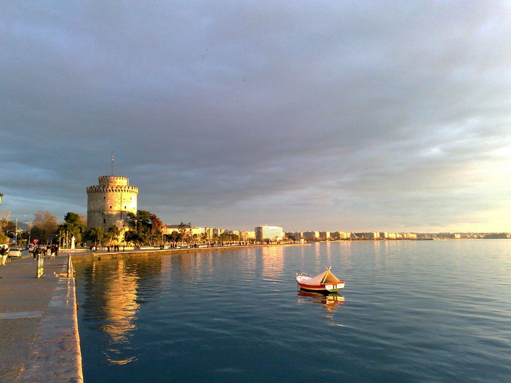 Thessaloniki's most famous landmark, the White Tower
