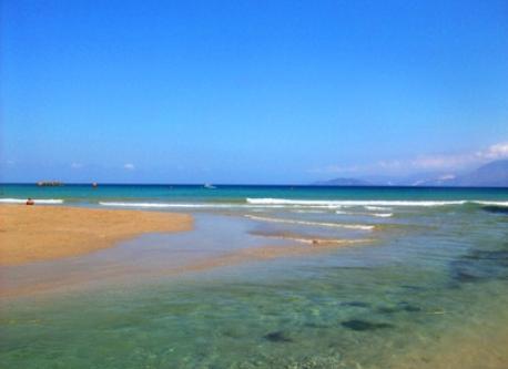 Almiros beach in Ag. Nicolaos Crete