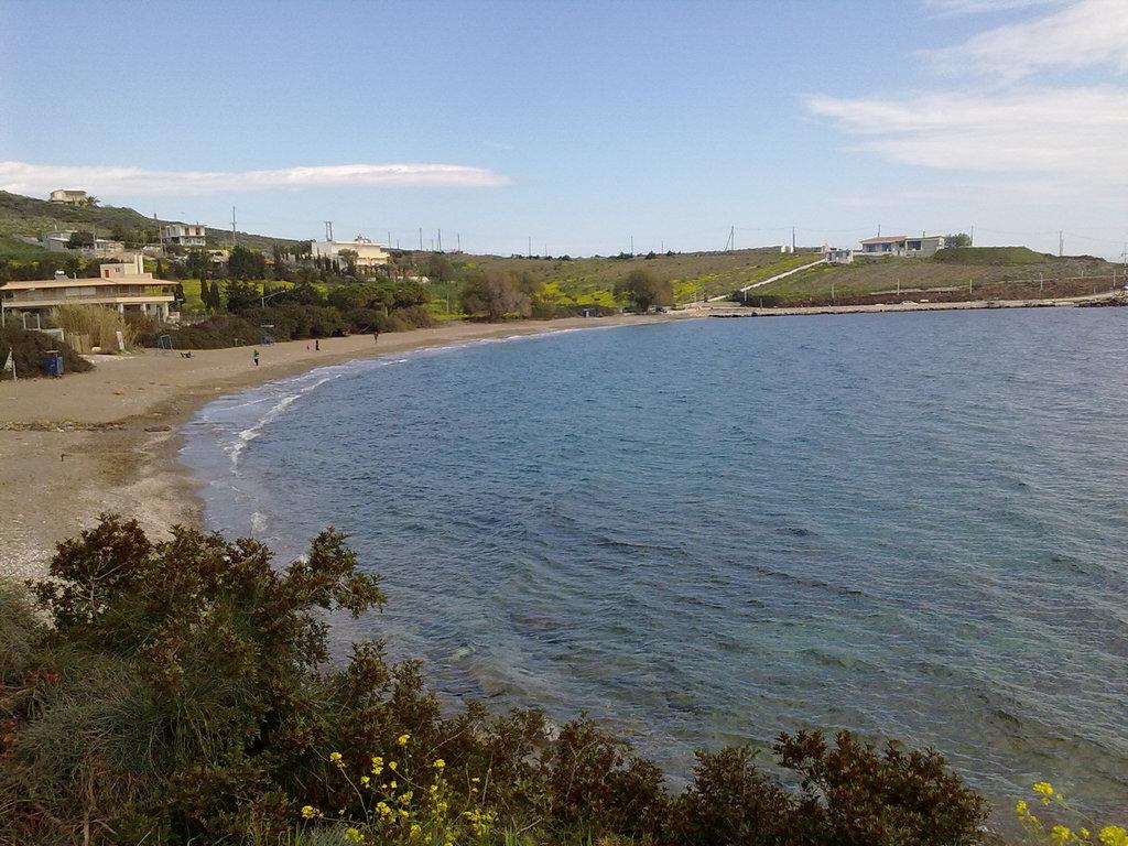 beach with taberna
