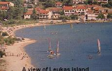 A VIEW OF LEUKAS