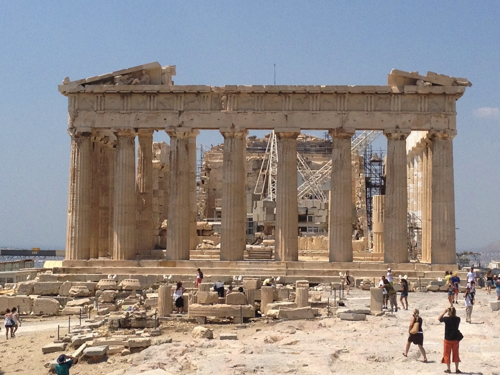 Some beautiful sites worth visiting from our house: Athens, Acrpolis