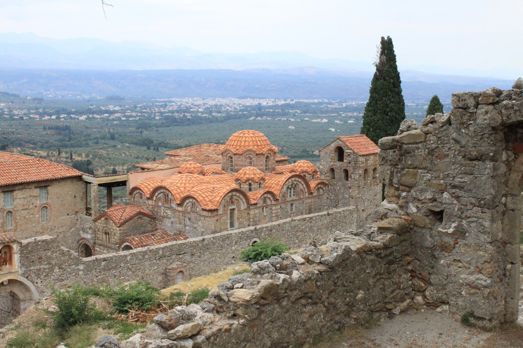 Some beautiful sites worth visiting from our house:  Mystras