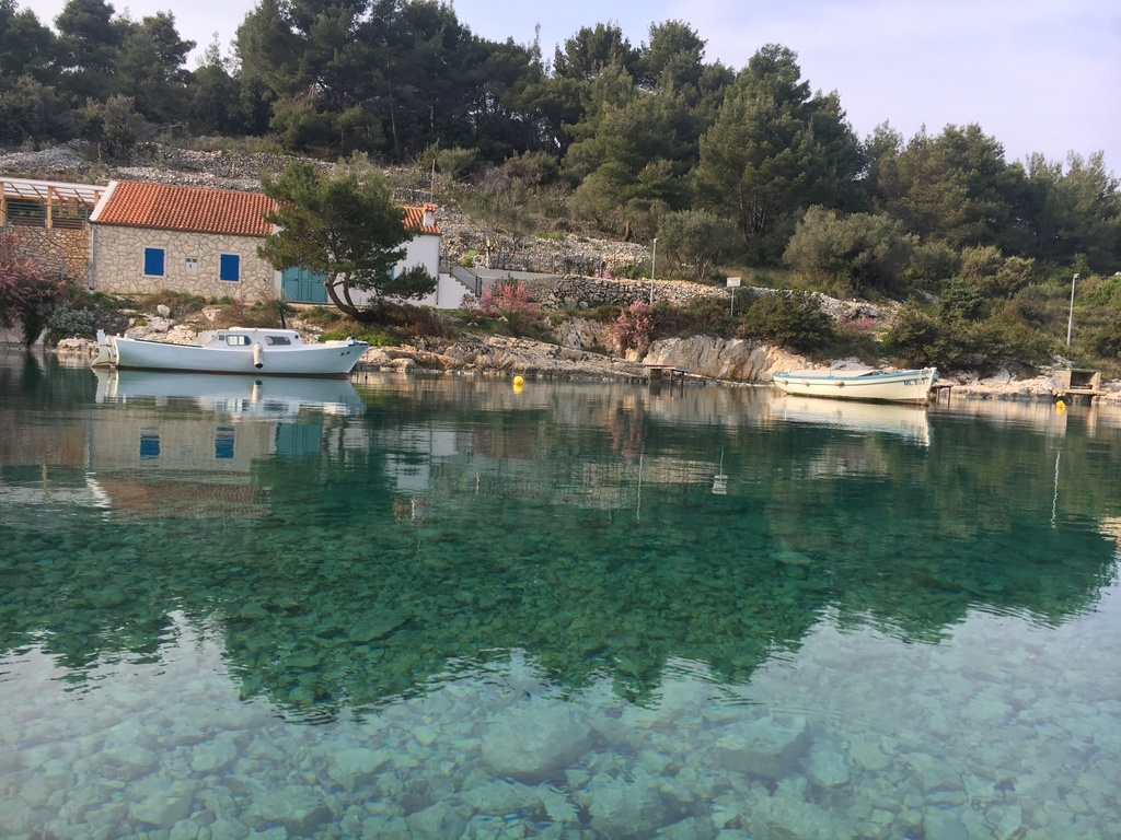 from walking path to Veli Lošinj
