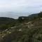 View to the island Susak from walking path starting in Mali Lošinj