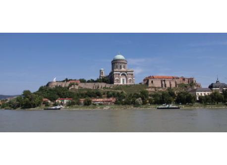 Basilica in nearby Esztergom