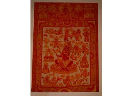 Javanese Batik painting