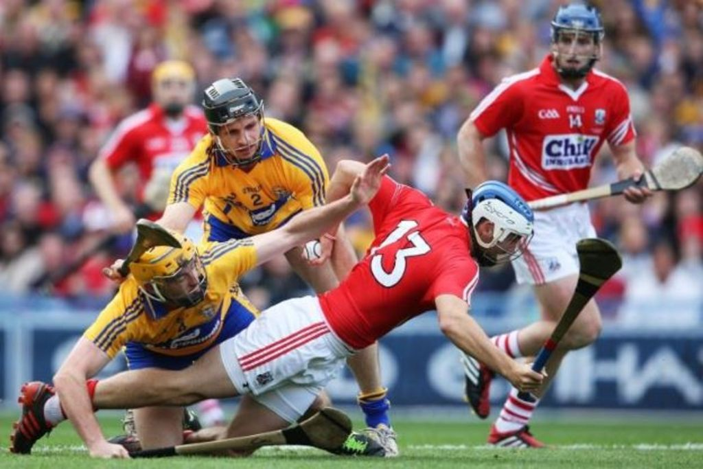 Catch a game of hurling