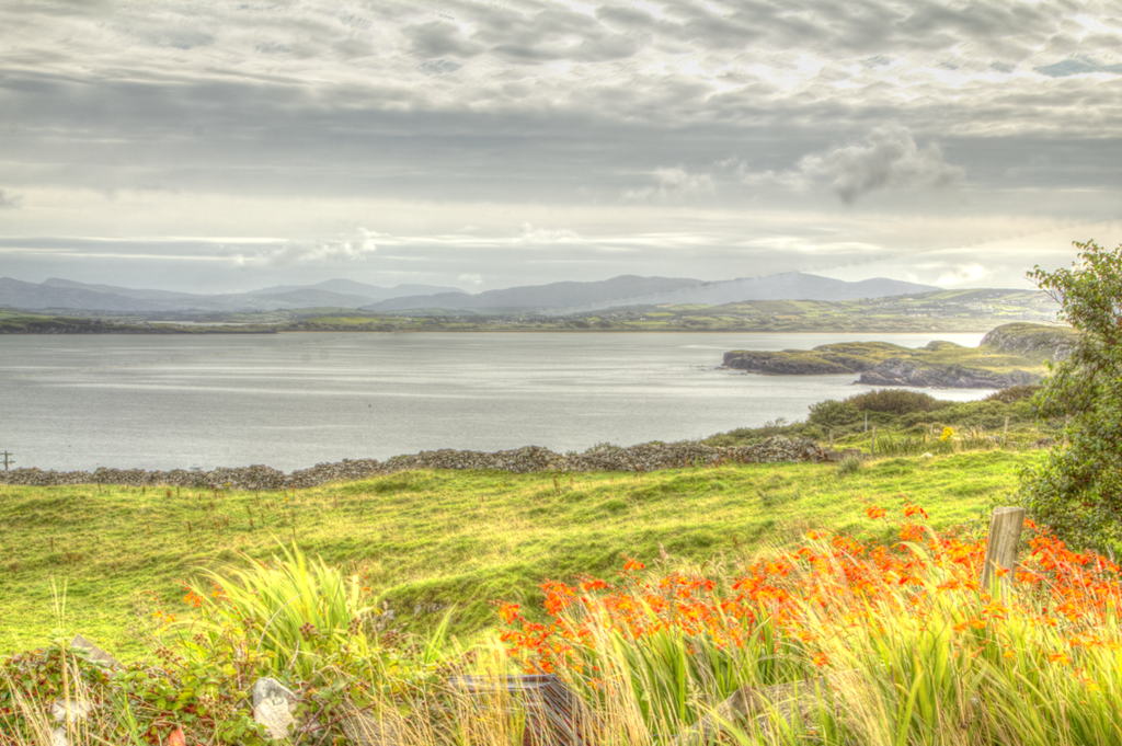 View from the Donegal cottage