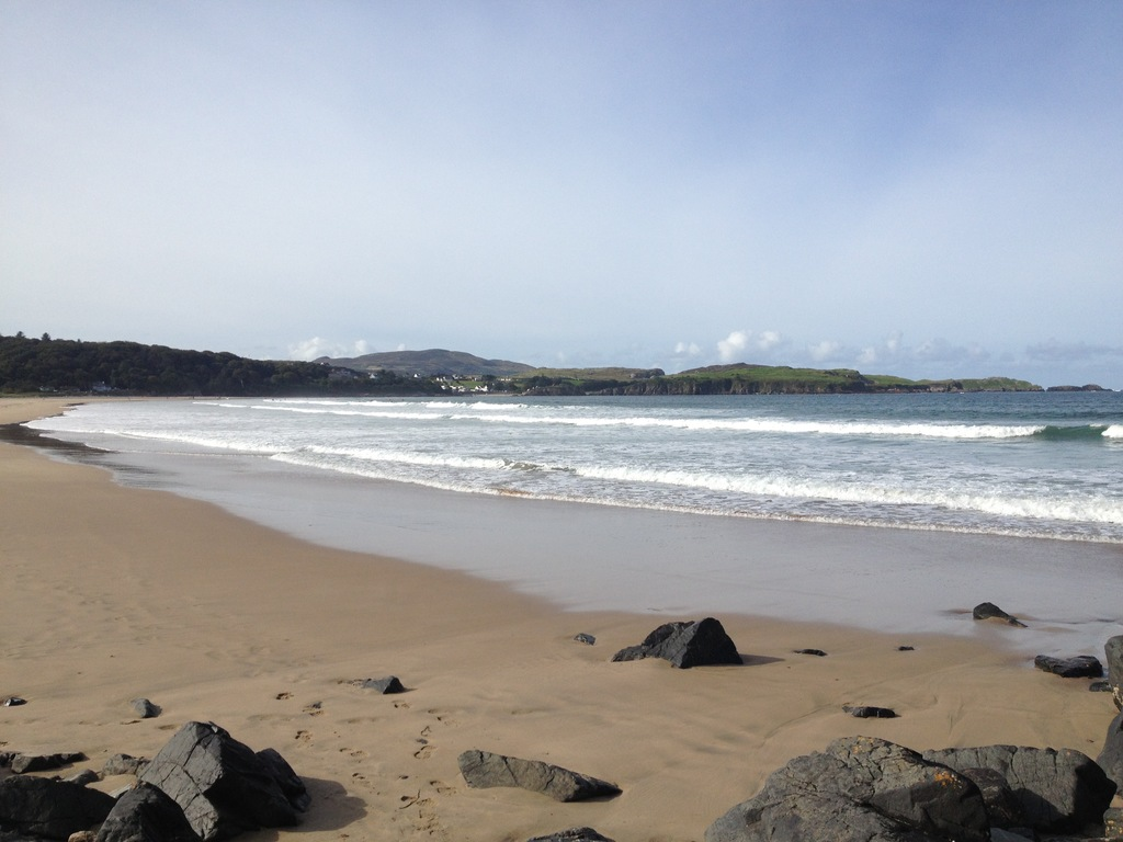 Marble Hill Beach 10 minutes walk from the cottage