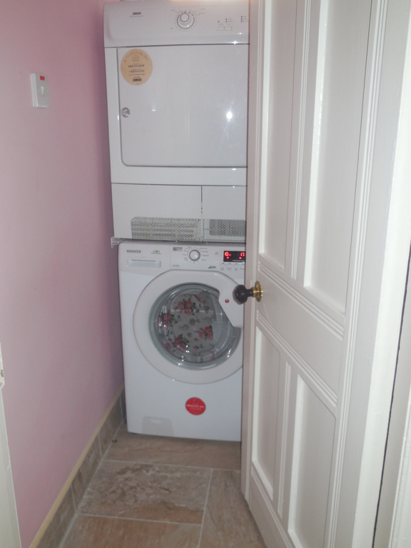 Our utility room - with washer and dryer