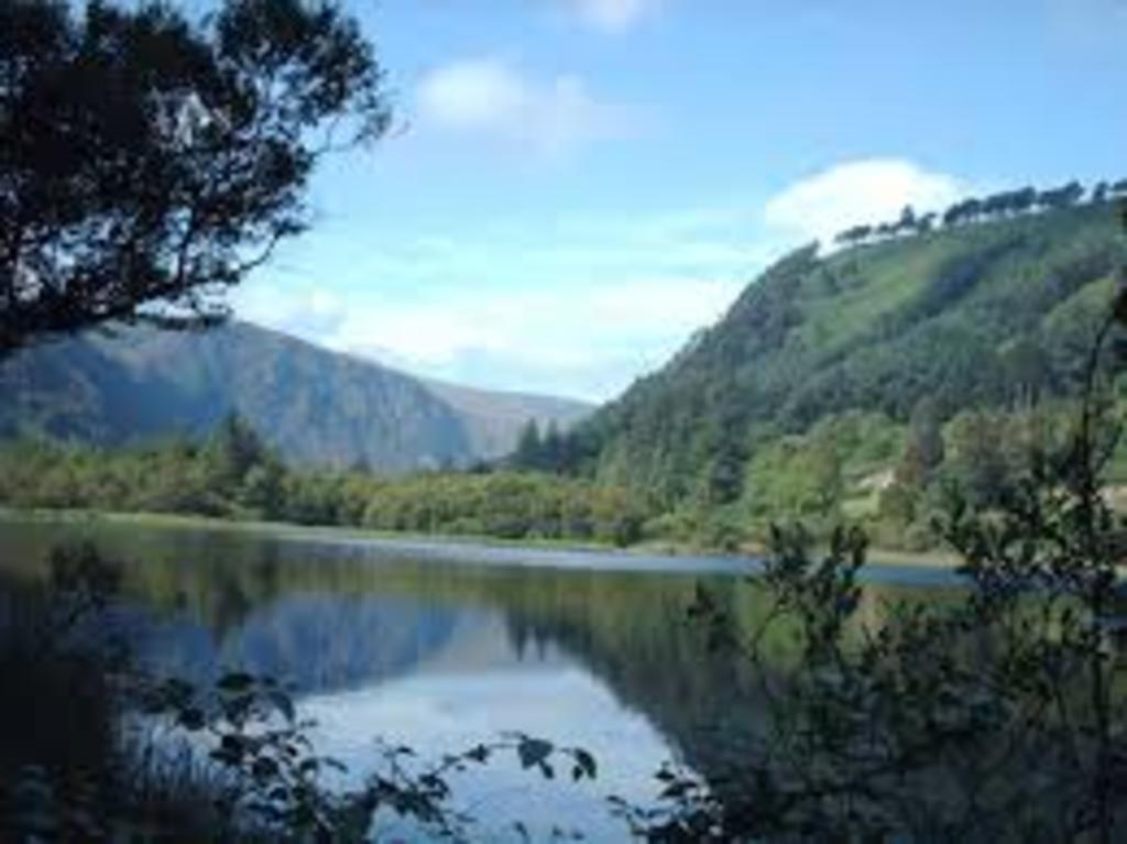 Enjoy the Wicklow mountains