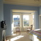 Our Master bedroom - bright and with an ensuite toilet/shower