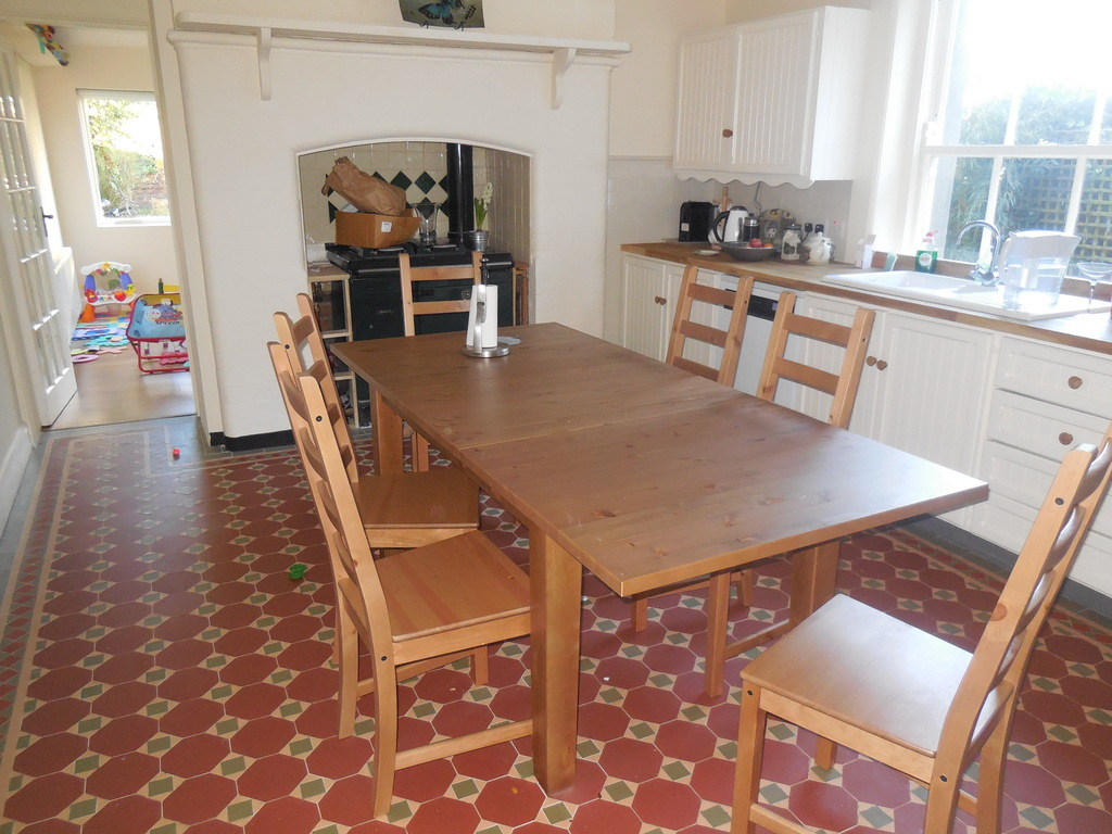 Kitchen - bright, spacious and newly modernised