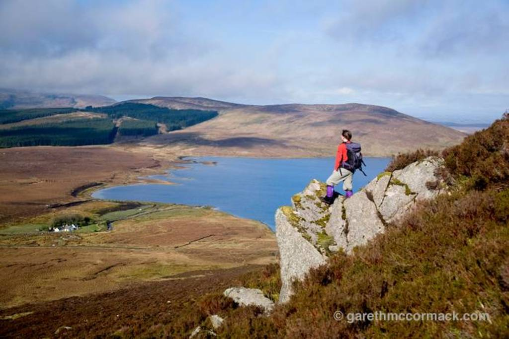 19 Hillwalking at Lough Easkey