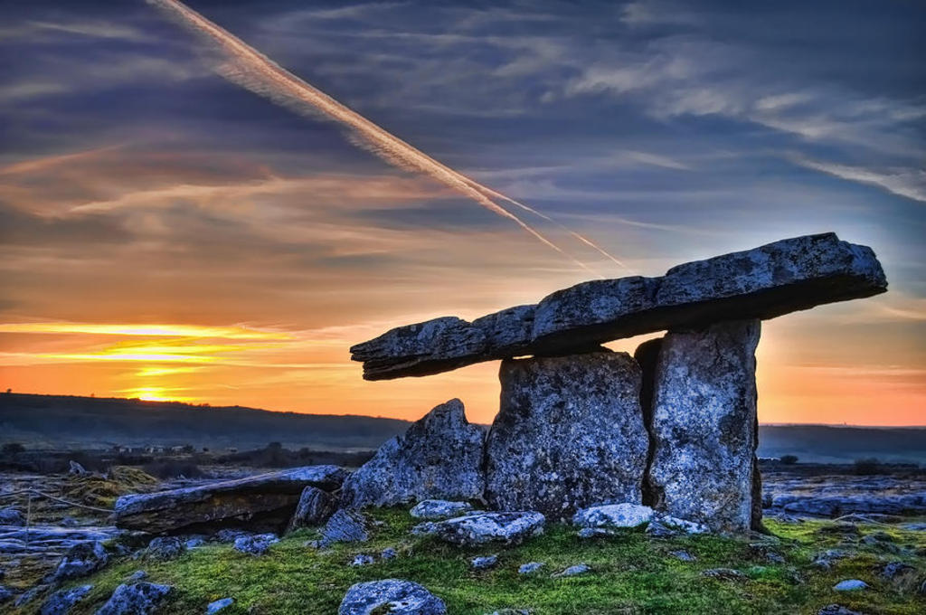 Poulnabrone - a megalithic tomb. 20 minutes from our home