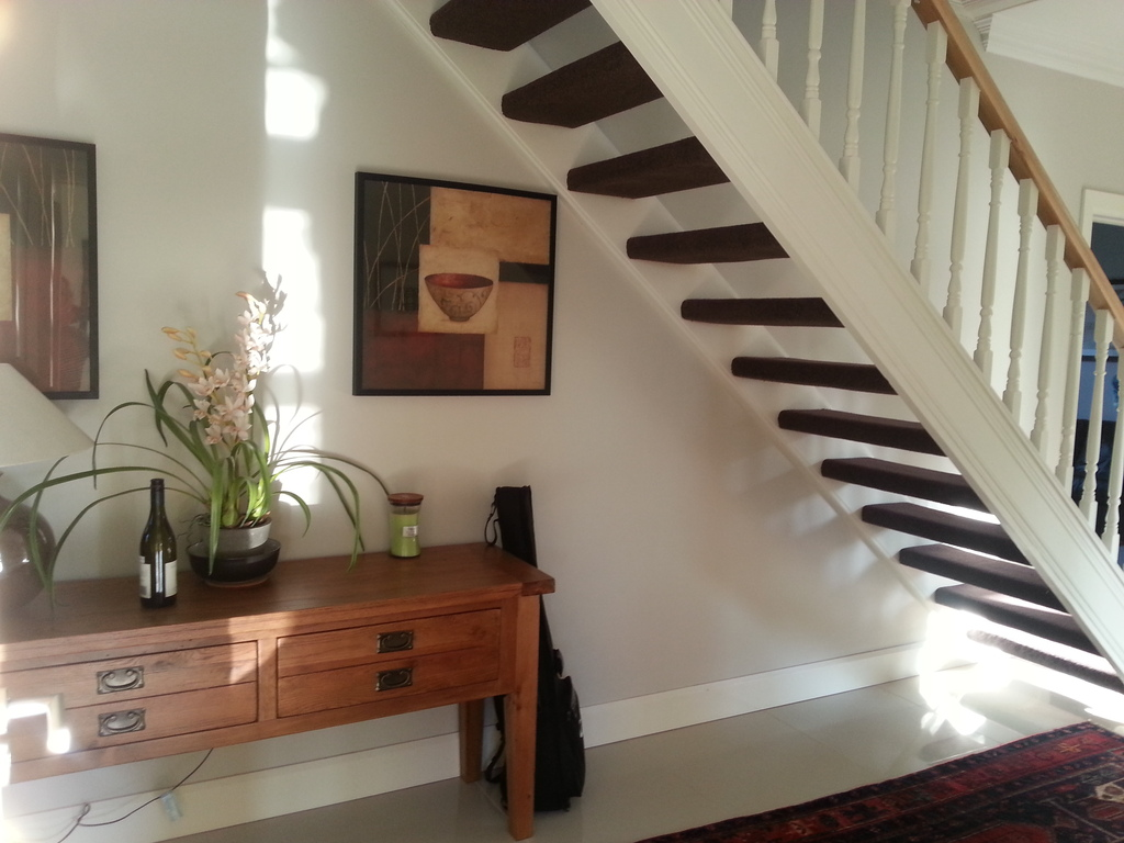 Hallway - view from kitchen door
