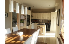 Kitchen/dining area view 1