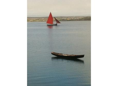 Traditional boats - Galway hooker and currach