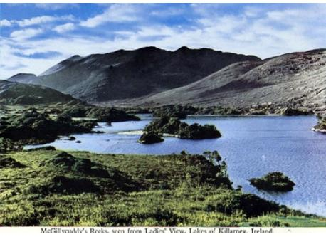 View of Lakes of KIllarney