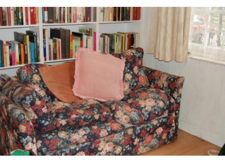 sofa bed downstairs tv room