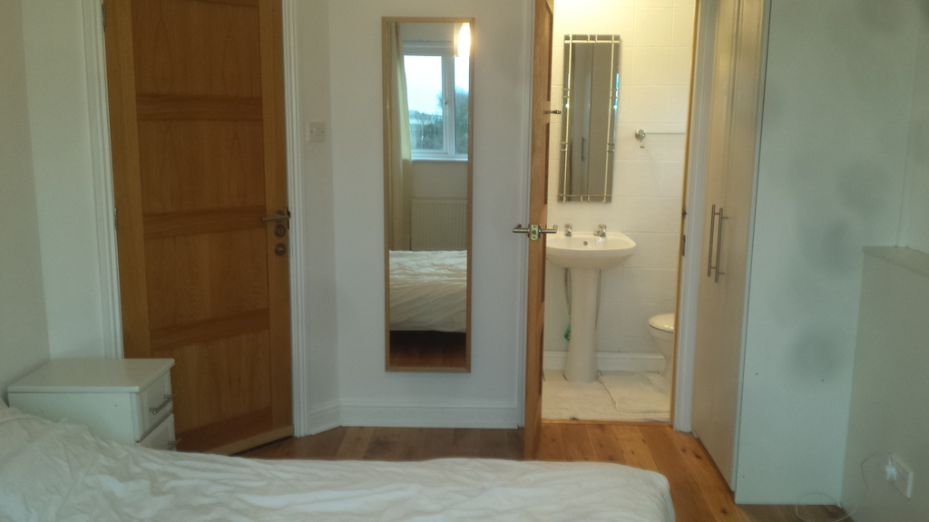 Guest Double bedroom with shower and w.c.