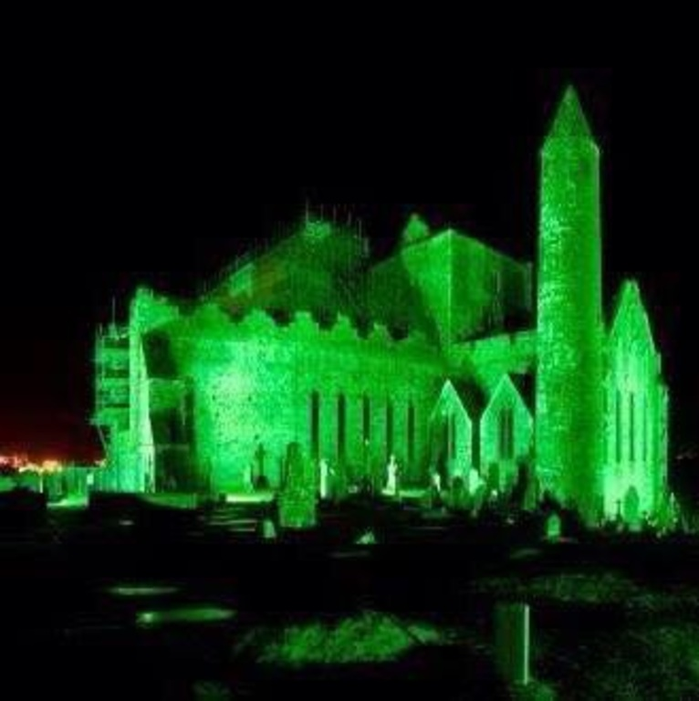 St. Patricks Day on the Rock of Cashel