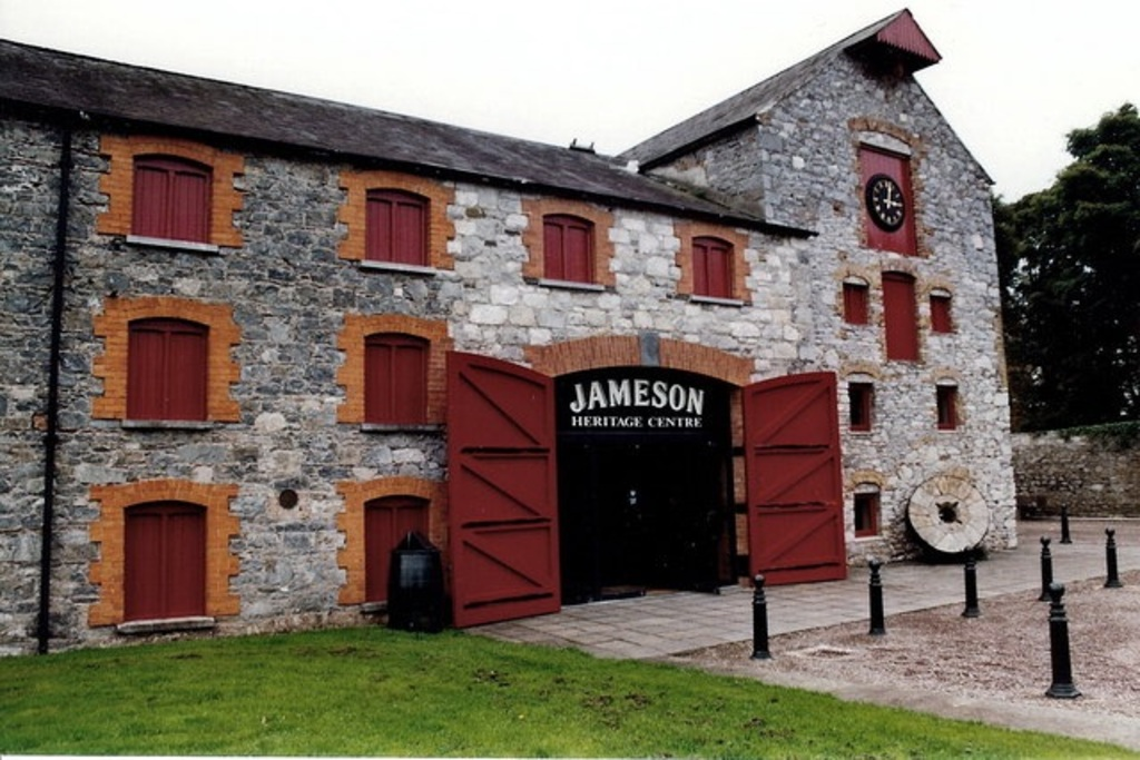 Jameson whiskey distillery