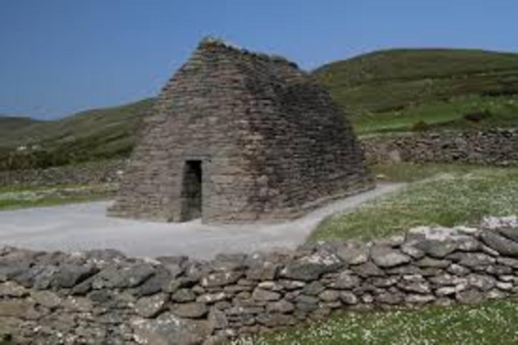 Gallarus oratory, the oldest church in Ireland.