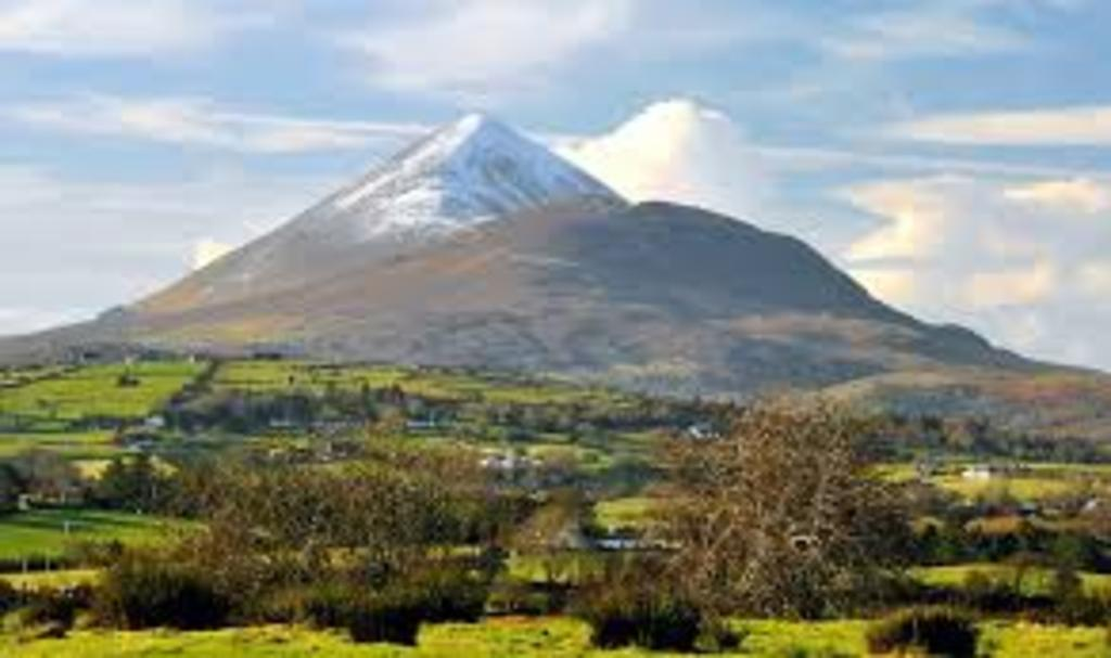 Mount Brandon, the second highest mountain in Ireland.
